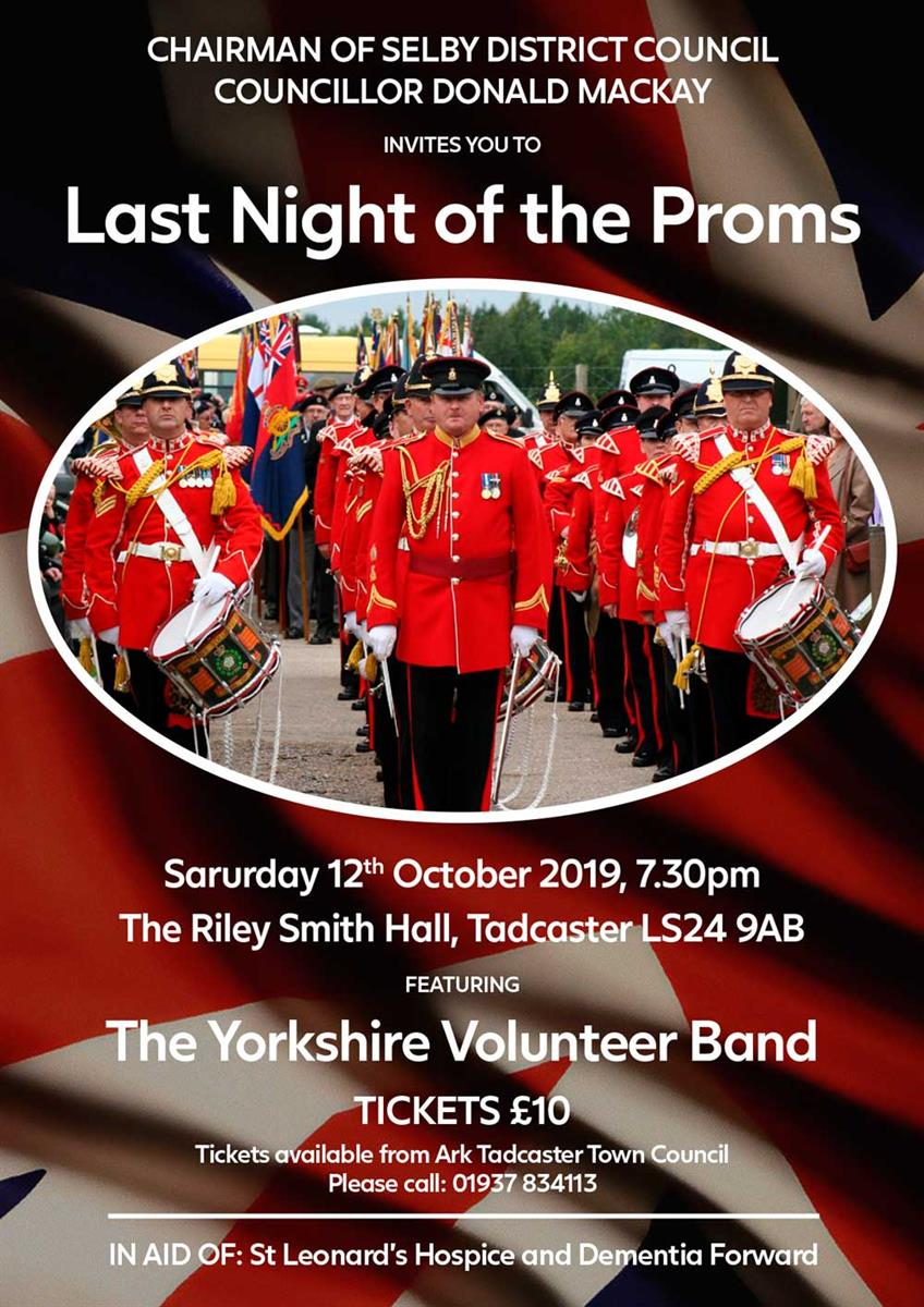 Last Night of the Proms Concert Poster