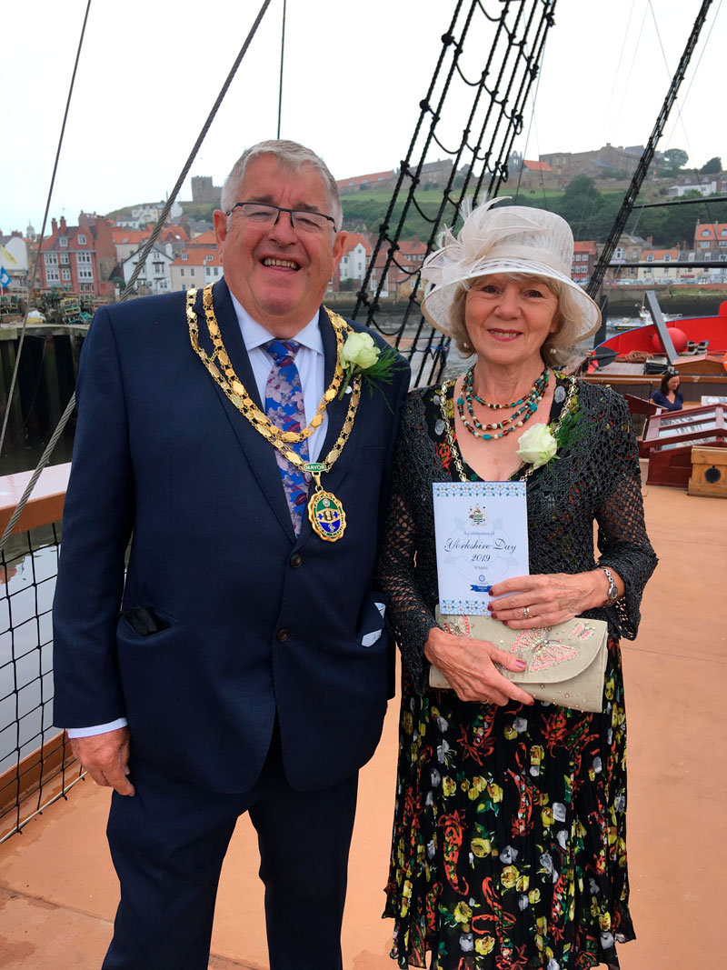 2019 Yorkshire Day Mayor Photo