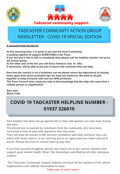 community action group poster