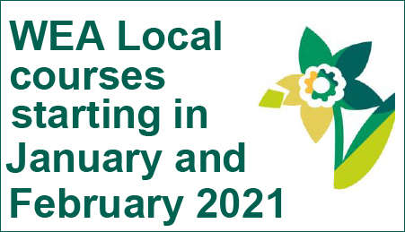 WEA Local courses starting in January and February 2021